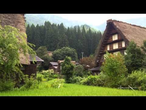 SHIRAKAWA-GO 白川郷 World Heritage Site in Gifu 世界遺産