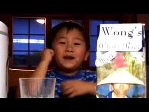 Asian Child Comedian, Spoofs the Welch's Grape Juice Kids