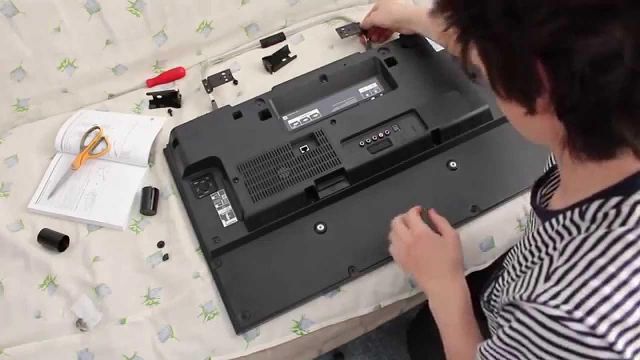 Sony Kdl 32w705b подвес Youtube