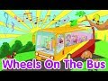 The Wheels On The Bus | Nursery Rhyme | Lagu Anak Channel