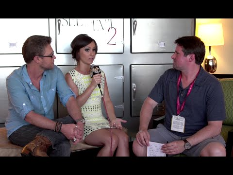 Comic Con 2014 - Kaj-Erik Eriksen & Danielle Harris Interview (2014) See No Evil 2 HD