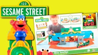Sesame Street | Elmo Junction Car & Train Toy REVIEW 2017