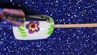 Easiest  Floral Nail Art