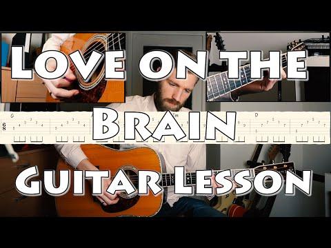 Rihanna - Love On The Brain   Guitar Lesson   With Tabs & Chords   Arpeggio & Strumming