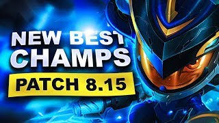 New Best Champions in Patch 8.15 SEASON 8 for Climbing in EVERY ROLE (League of Legends)