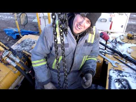 JD 330C LC Swing Motor Installation