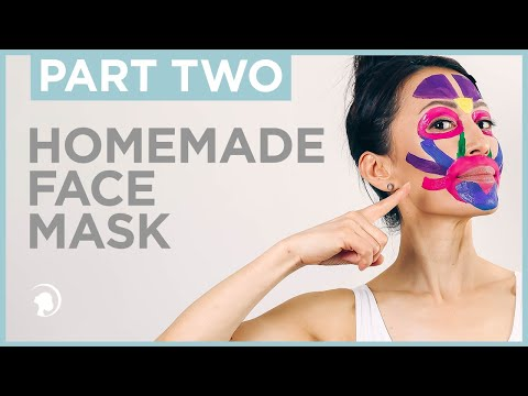 How To Make A Home Made Face Mask - Part 2