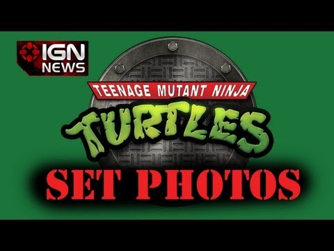 IGN News - First Photos from Michael Bay's TMNT Set