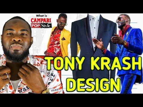Fashion Designer Tony krash | @Campari pop style Kingston Jamaica.
