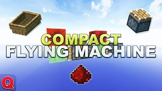 Minecraft - Compact Flying Maschine // Flugmaschine - (Quick) Tutorial 1.8.9