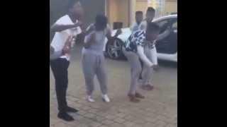 Watoto wa Zari Boss Lady| Zari Sons on Shymoney Dance