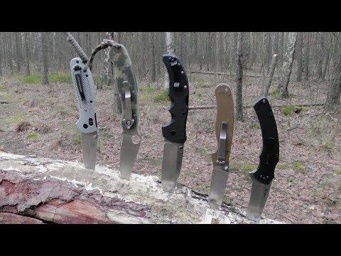 Мой Топ 5 складных ножей года