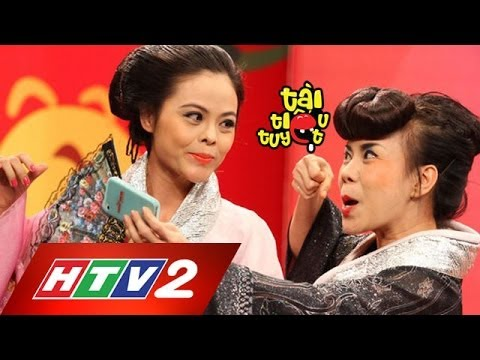 [htv2] - Tài Tiếu Tuyệt - Geisha - Việt Hương, Minh Béo, Xuân Thùy, Kim Ngân video