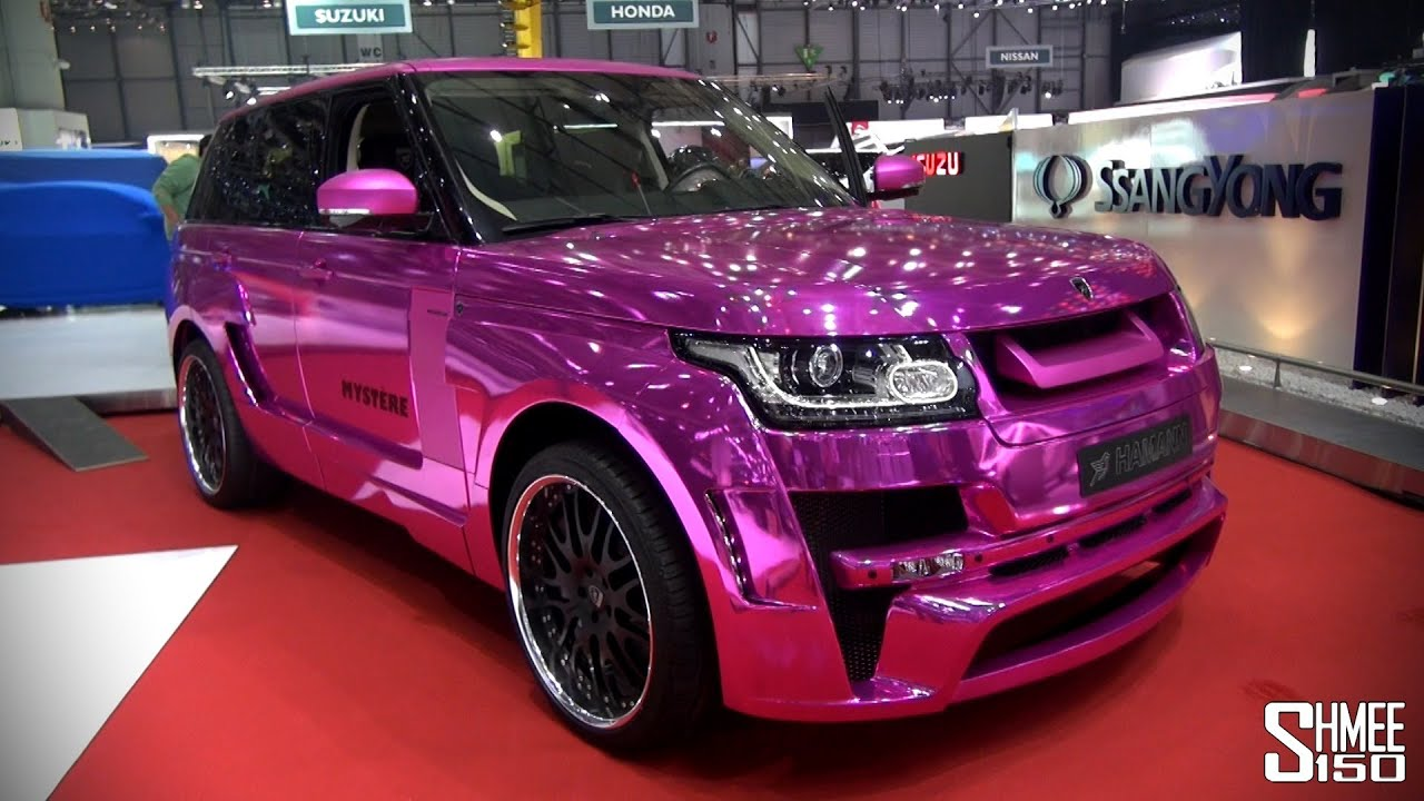EXCLUSIVE Hamann Mystre CHROME PINK NEW Range Rover