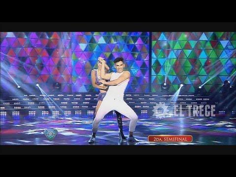 La cumbia de Cinthia Fernández en la seminfinal del Bailando
