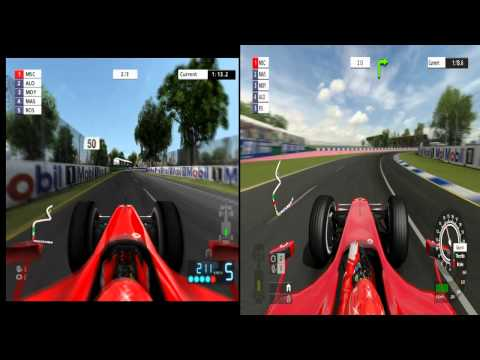 F1 06 (PS2) VS Formula One Championship Edition (PS3) - Melbourne - 3 laps