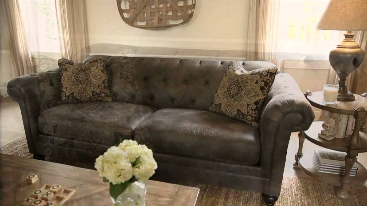 Ashley Furniture Homestore Hartigan Living Room Youtube