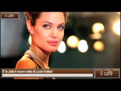 E' La Jolie Il Nuovo Volto Di Louis Vuitton video