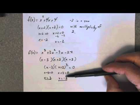 Find a polynomial function given the degree and its zeros with ...