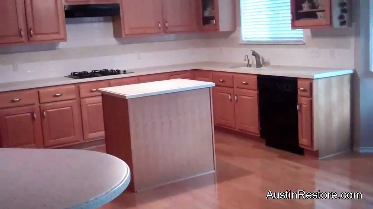 Resurfacing Corian Kitchen Countertops Youtube