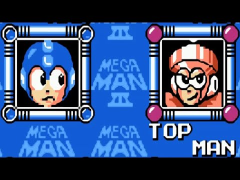 Mega Man 3 Top Man Kill
