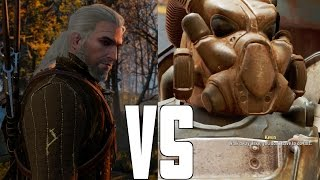The Witcher 3 vs Fallout 4: Game of the Year 2015