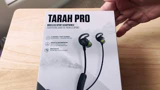 Jaybird Tarah Pro 14Hr Battery Wireless Sport Headphones Unboxing 12-14-18