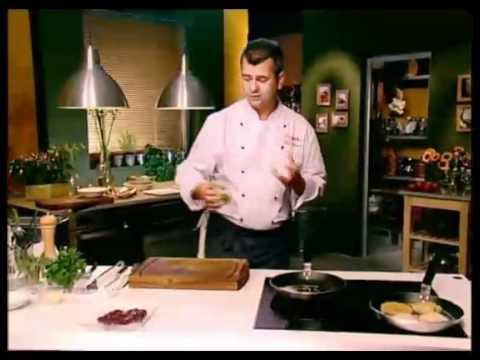 Tejszínes-zsályás borjúmáj rizslepénnyel