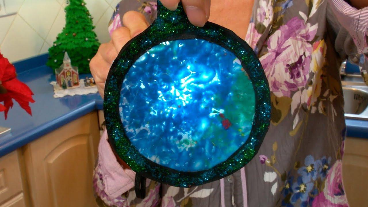 Decoracion de navidad con efecto de vidriera de colores - Como se hace una vidriera ...