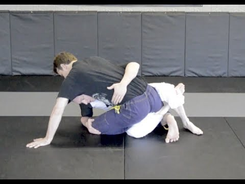 Sauer Sweep (Shark Bite) from Passing Guard with Ari Image 1