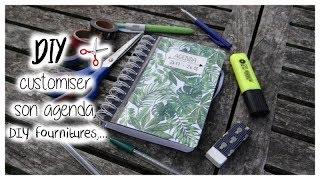 DIY BACK TO SCHOOL : customiser son agenda,..