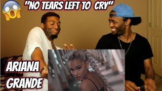 Ariana Grande - No Tears Left To Cry (REACTION)