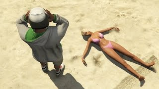 GTA 5 Next-Gen - Beach Shenanigans