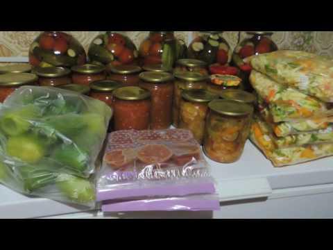 Мои Заготовки на зиму//Что бы не было скучно,закатываю баночки и замораживаю овощи.