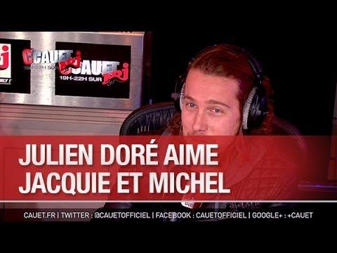 Julien Doré aime  Jacquie et Michel - C'Cauet sur NRJ