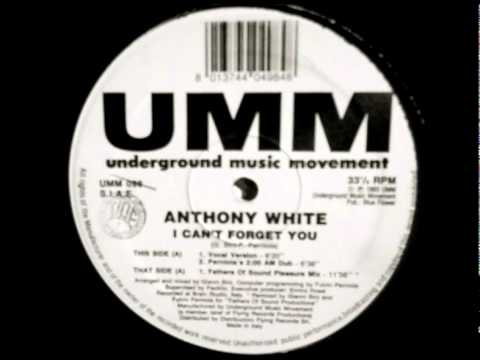 Anthony White - I Cant Forget You