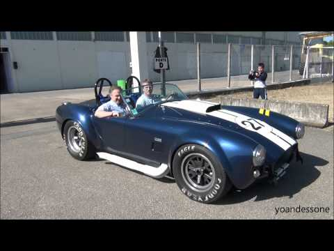 AC Cobra 427 loud sound !!