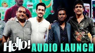 Hello Telugu Movie Audio Function Highlights | Akkineni Nagarjuna, Akhil | latest Telugu Movie 2018