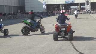 Stunt Bike Riding Quad Moto Stuntman Show  - Motodays Video