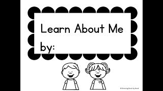 All About Me Unit for Preschool