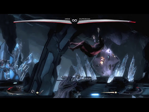 Injustice Gods Among Us Ares Regime Very Hard Arcade Classic Ladder Maximum Difficulty HD 1080p