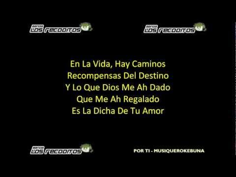 Por Ti - Banda Los Recoditos (Letra)