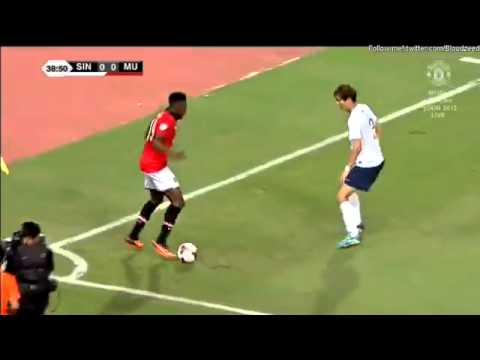 Danny Welbeck Fail vs. Singha All Stars Asia Tour 2013
