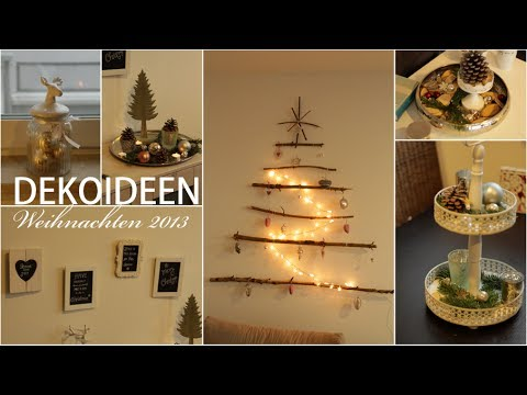 8 dekoideen weihnachten 2015 youtube. Black Bedroom Furniture Sets. Home Design Ideas