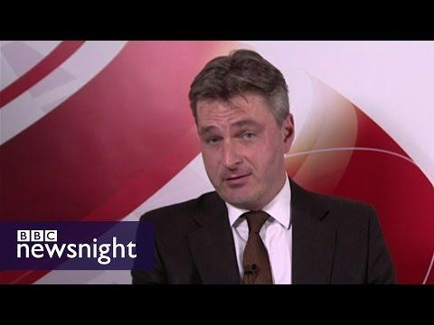 James O'Brien grills Daniel Kawczynski MP on Saudi arms sales - Newsnight