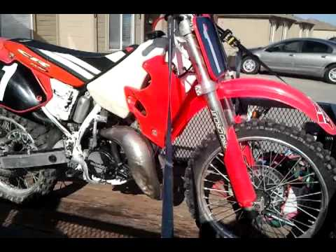 1993 Honda Cr 125 Nice Bike Fast Ass Fuck! video