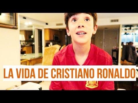 LA VIDA DE CRISTIANO RONALDO┋CRISTIANO RONALDO'S LIFE┋HUGO MARKER Y CRISTIANO RONALDO