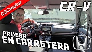 Honda CR-V | 2019 | Prueba en carretera