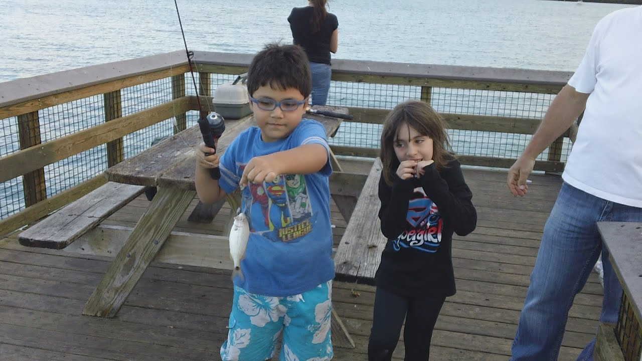 Fishing in oleta river state park miami fl youtube for Fishing license for disabled person
