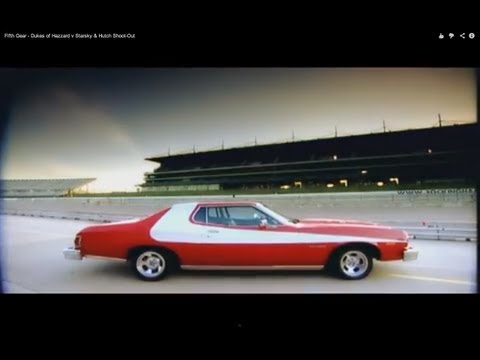 Fifth Gear - Dukes of Hazzard v Starsky &amp; Hutch Shoot-Out